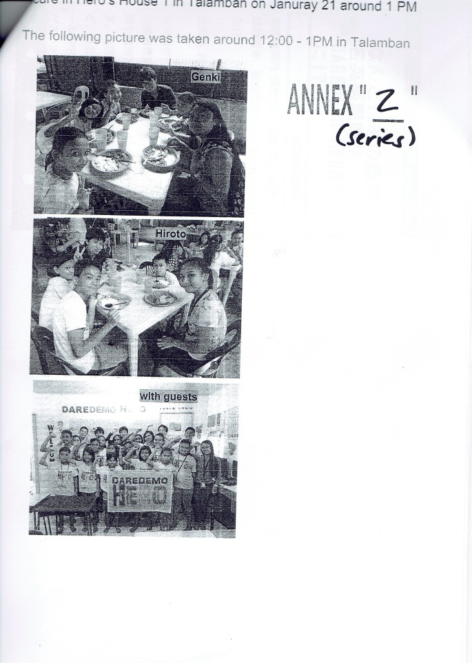 P14.COUNTER AFFIDAVIT OF GENKI AND HIROTO