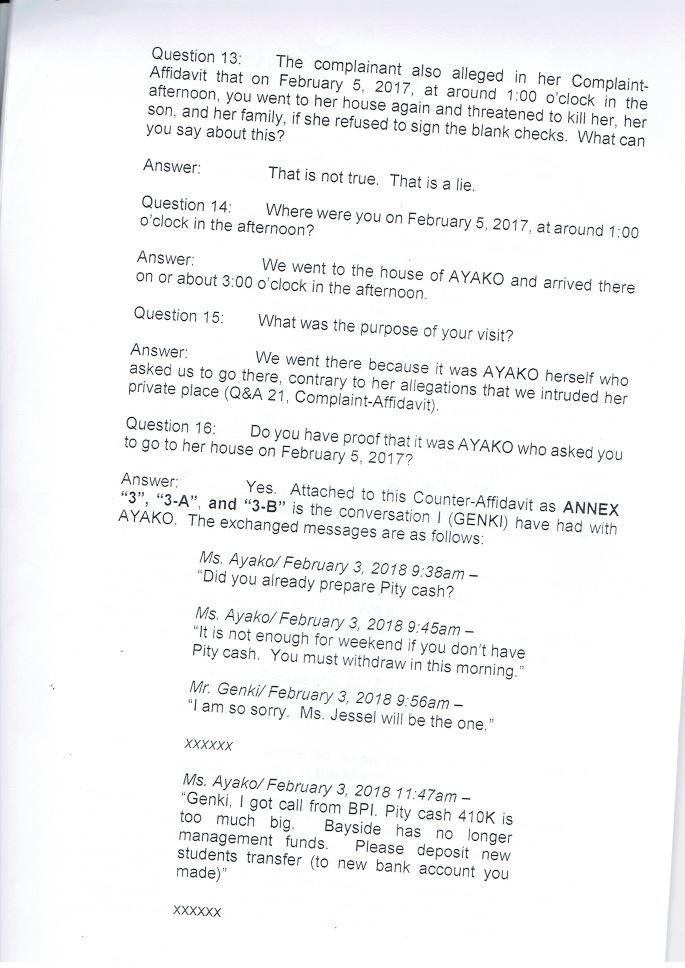 P6.COUNTER AFFIDAVIT OF GENKI AND HIROTO